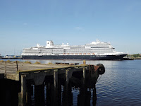 The Koningsdam the largest cruise ship to visit the Tyne