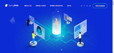 مشروع SpringRole لأنظمة البلوكشين لبروتوكل للتحقق من الملفات الشخصية الاحترافية