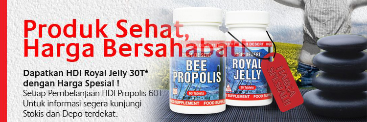 Promo Bee Propolis dan Royal Jelly tablet