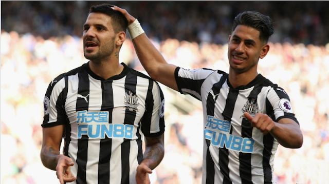 Newcastle United Terima Dakwaan FA karena pasang Logo Situs Judi