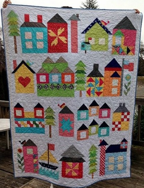 Moda Be My Neighbor - Free Quilt Pattern