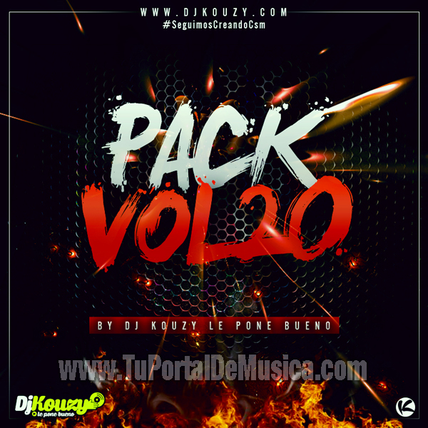 Pack Vol. 20 Dj Kouzy Le Pone Bueno (2016)