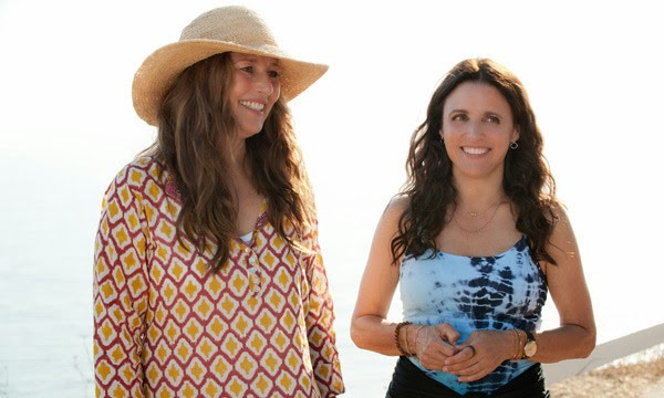 Catherine Keener and Julia Louis-Dreyfus in Enough Said.
