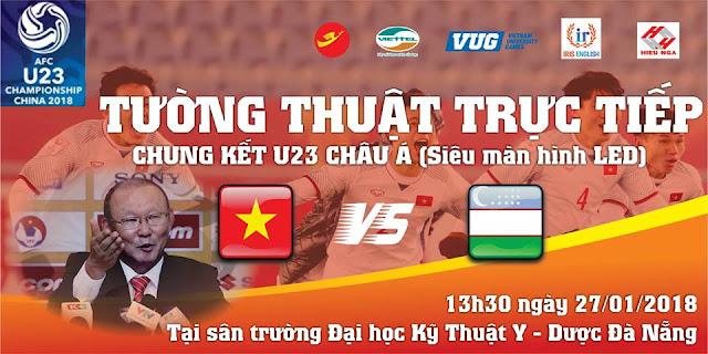 Đại học Kỹ thuật Y Dược Đà Nẵng - Đồng hành cùng đội tuyển U23 Việt Nam