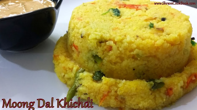 Moong dal khichdi with tadka recipe