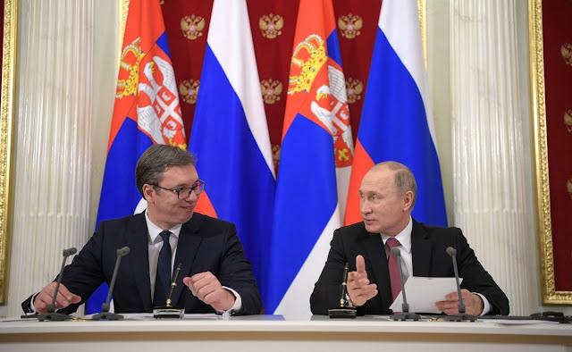 Δυναμική εξέλιξη στις σχέσεις Ρωσίας και Σερβίας - Χαράζουν κοινή πορεία