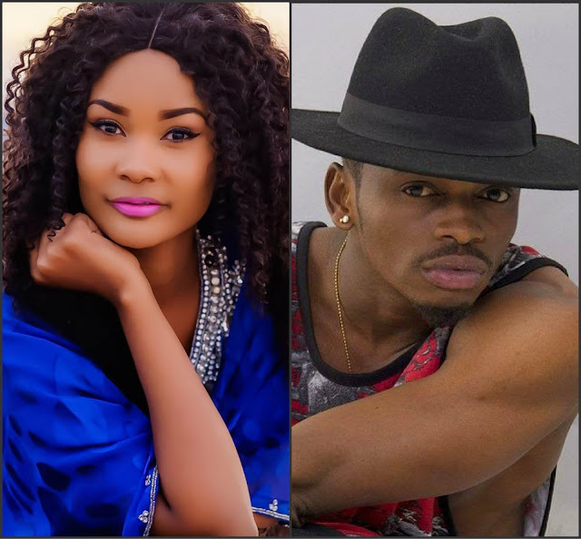 Image result for diamond platnumz VS  HAMISA MOBETO