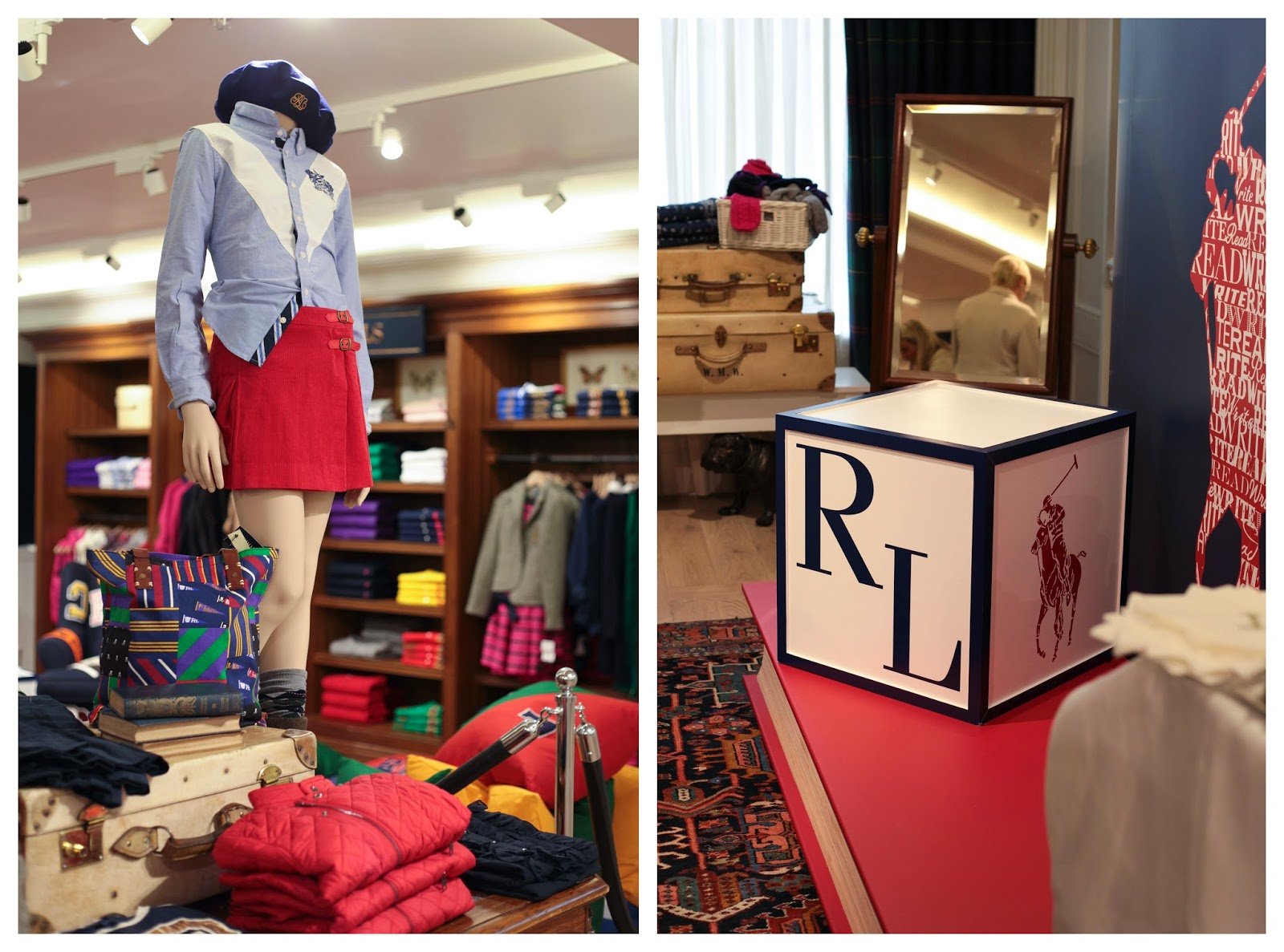 Side Street Style: Ralph Lauren Literacy Event and Interior ...