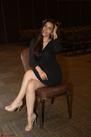 Kyra Dutta in black At Rogue Movie Audio Launch ~  028.JPG