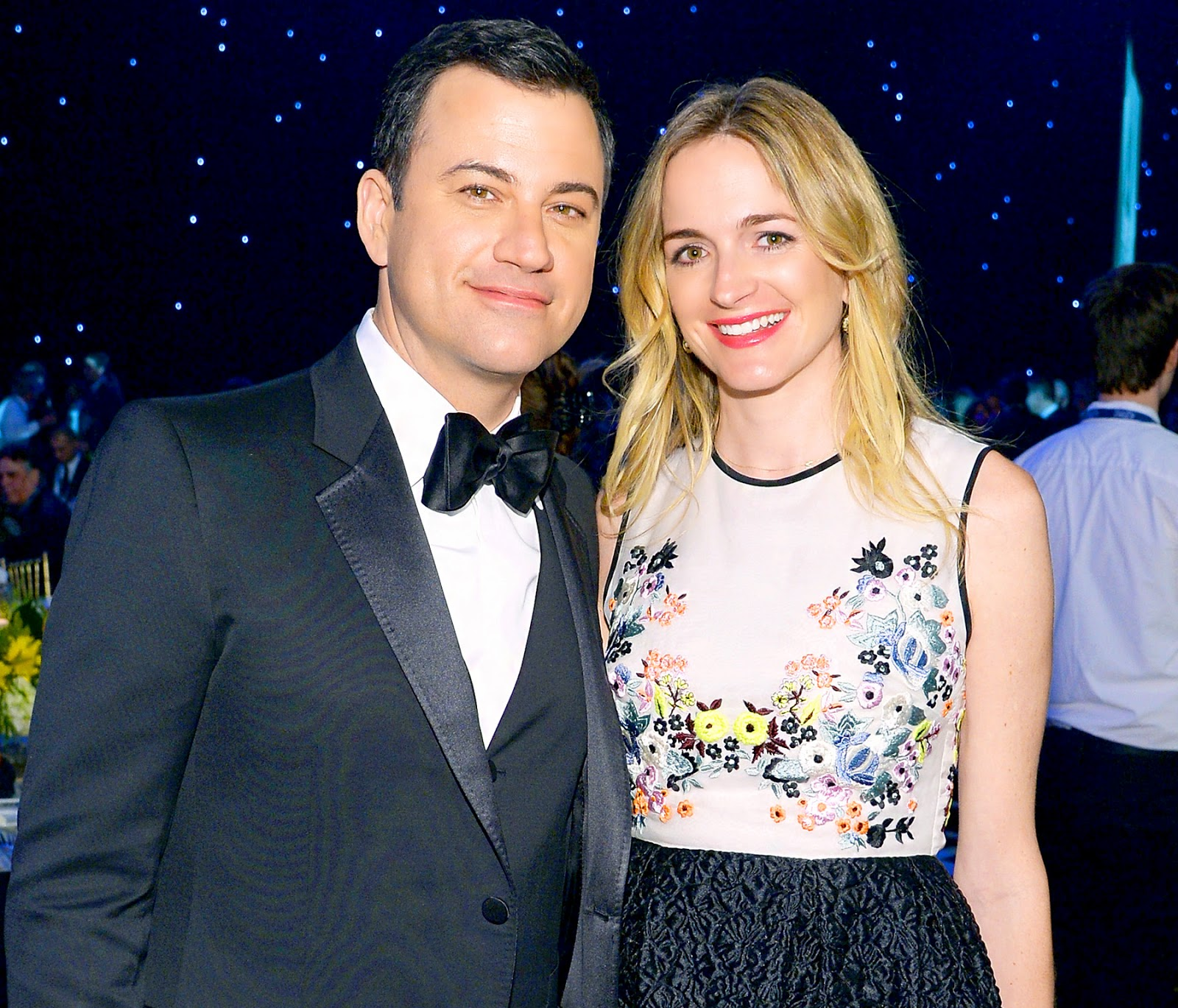 Chatter Busy: Jimmy Kimmel And Molly McNearney Welcome ...