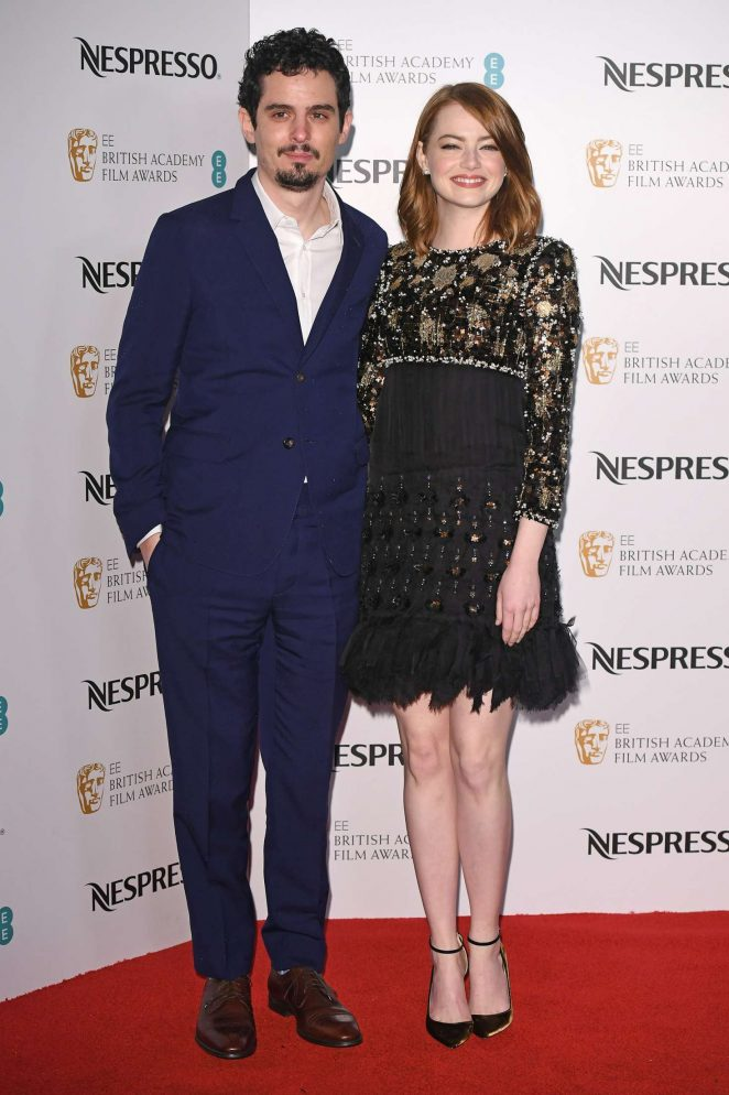 Emma Stone – BAFTA Nespresso Nominees' Party in London