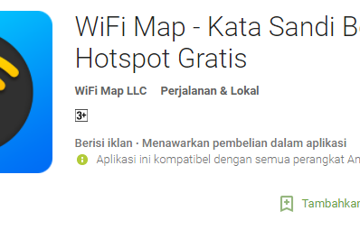 Aplikasi Intip Password Wifi