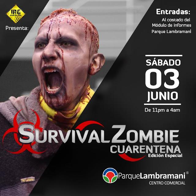Survival Zombie Cuarentena Arequipa