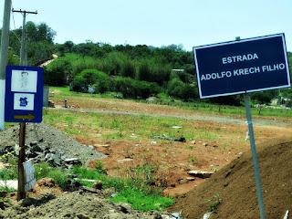 Estrada Adolfo Krech Filho - Caminho de Santiago, Santo Antônio da Patrulha