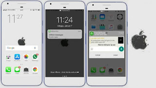 Donwload Tema iPhone for Oppo Smartphone