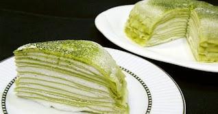 Công thức làm bánh Crepe Matcha ngon tuyệt tại nhà 1