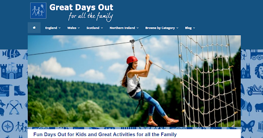 Great Days Out has a new Theme!