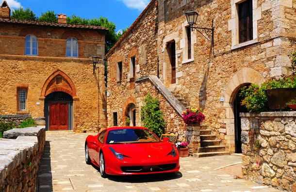 Drive a Ferrari Along the Amalfi Coast
