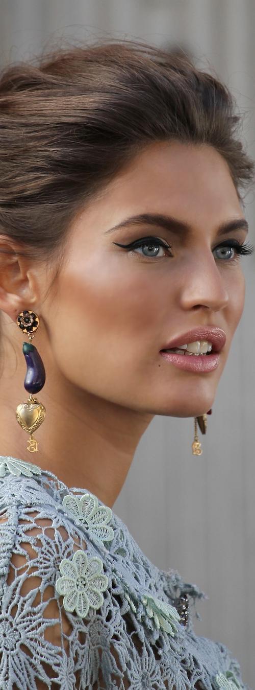 BIANCA BALTI photo shoot for Dolce&Gabbana