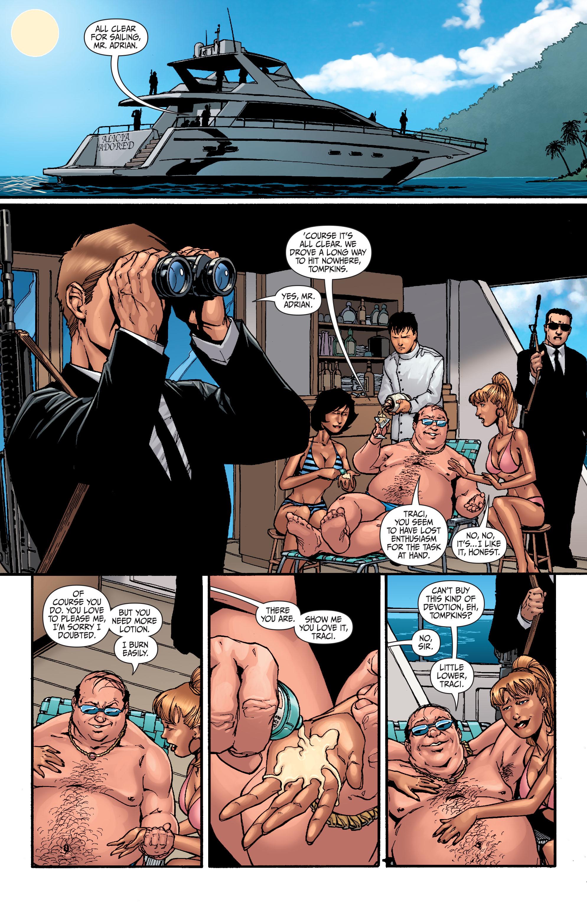Read online Secret Six (2008) comic -  Issue #25 - 2