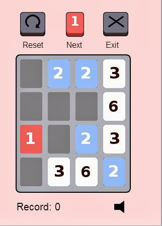 Add Three - Puzzle HTML 5 Game