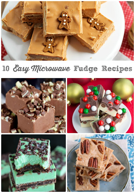 These 10 Easy Microwave Fudge Recipes are the ultimate collection of easy, fuss free, practically foolproof fudge recipes perfect for celebrating the holidays (or any day!) with.