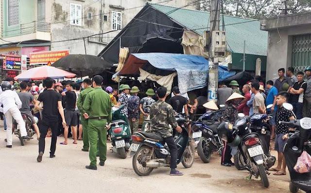 Kẻ nổ súng bắn cô gái bán đậu tử vong giữa chợ vì bị từ chối tình cảm