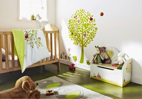 diseño dormitorio bebé