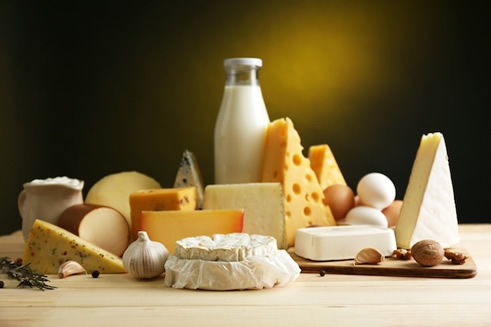Dairy product - contains methionine