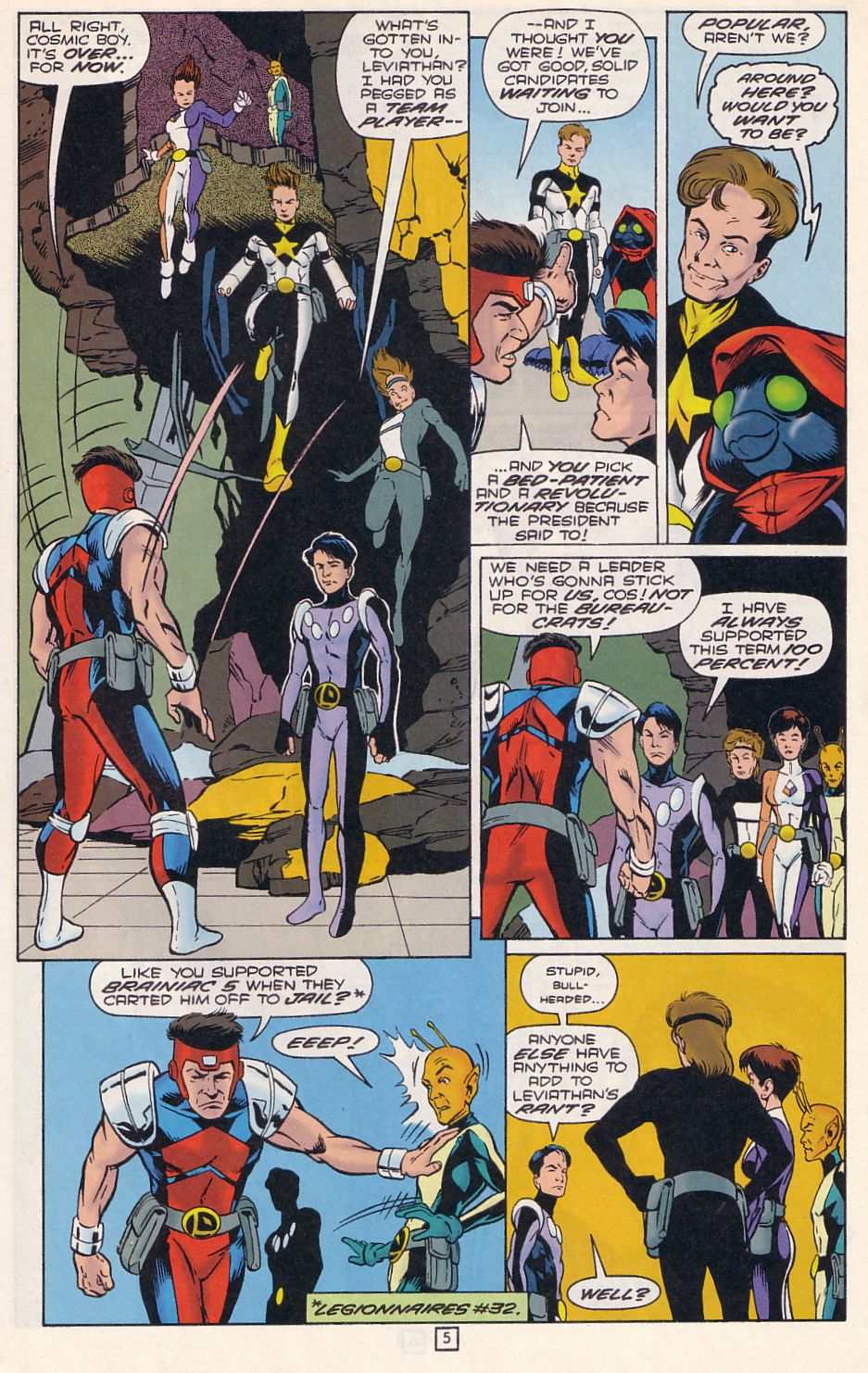 Legion of Super-Heroes (1989) 76 Page 5