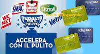 Logo ''Accellera con il pulito'': vinci 375 buoni carburante da 10€ e 1 fornitura di prodotti Bolton Manitoba