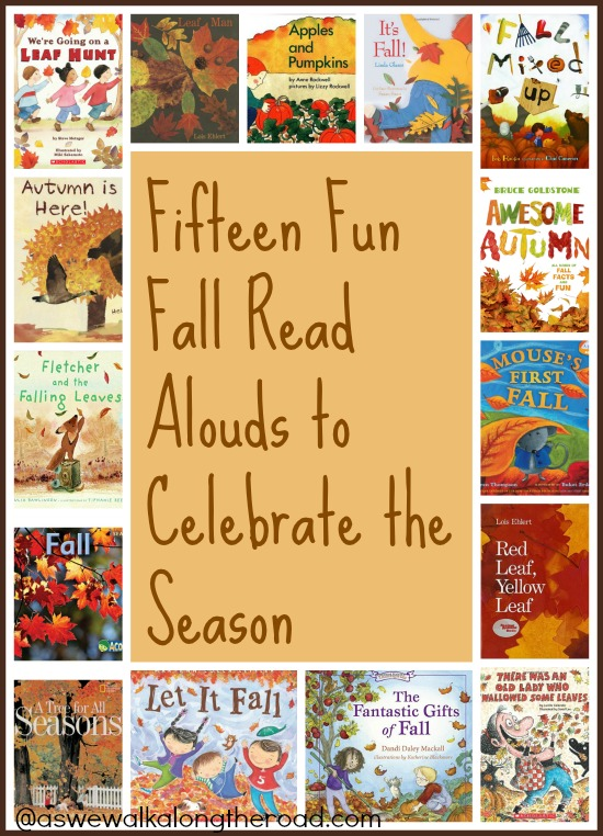 Fall themed books to read aloud