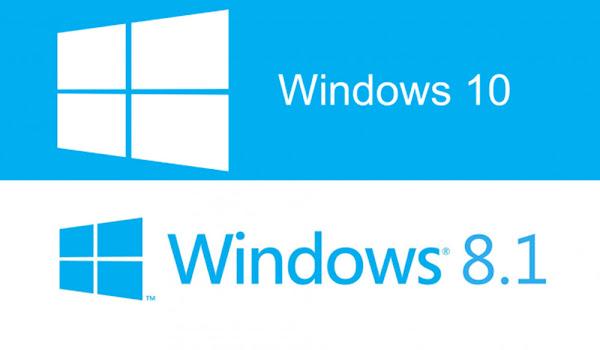 Windows 8.1'den Windows 10'a Yükseltme Sürümleri