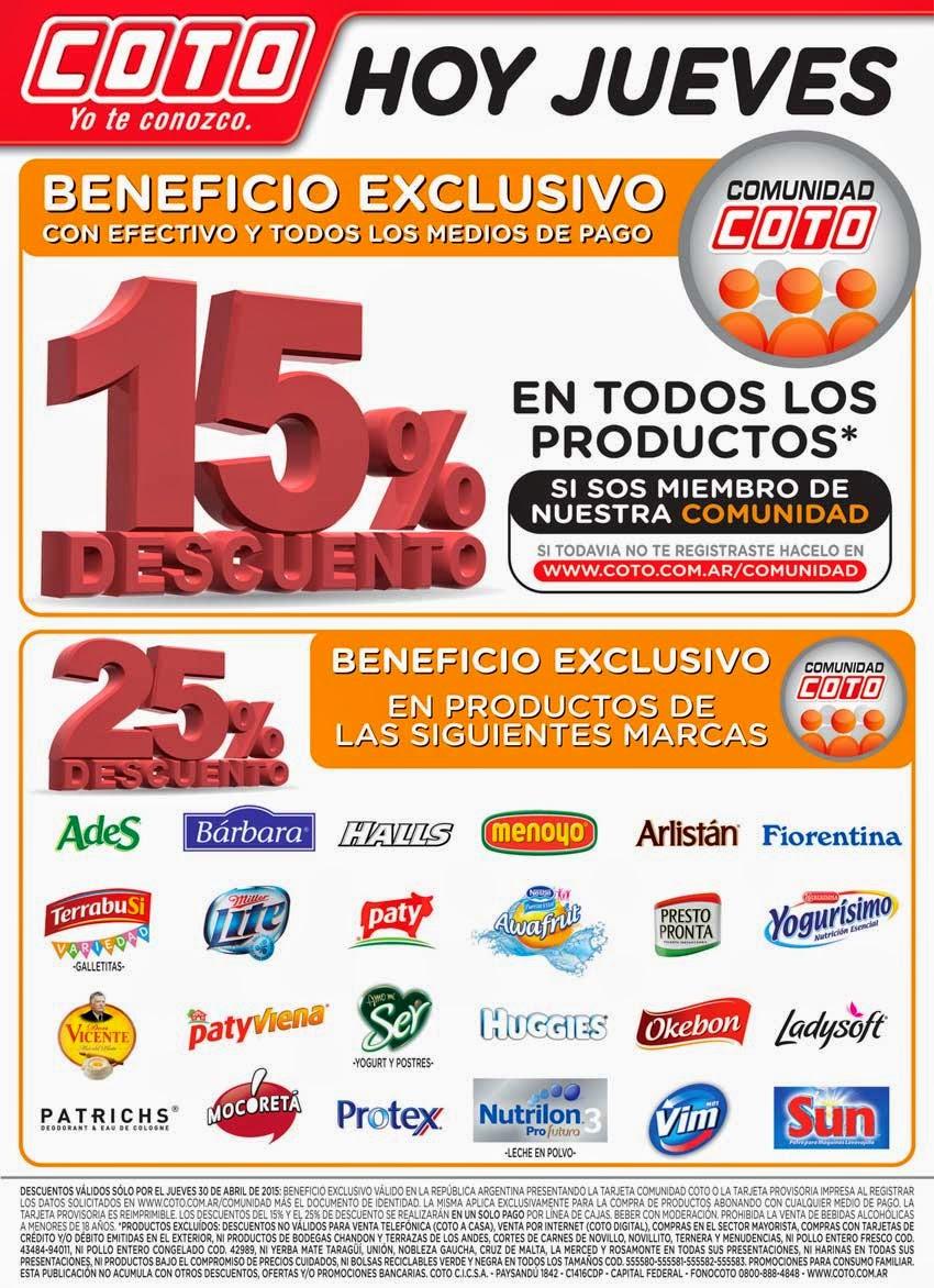 821ffa789 Ofertas y Promos en Argentina: abril 2015
