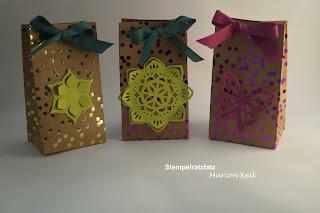 Geschenktüte mit dem Gift Punch Board von Stampin´ Up!