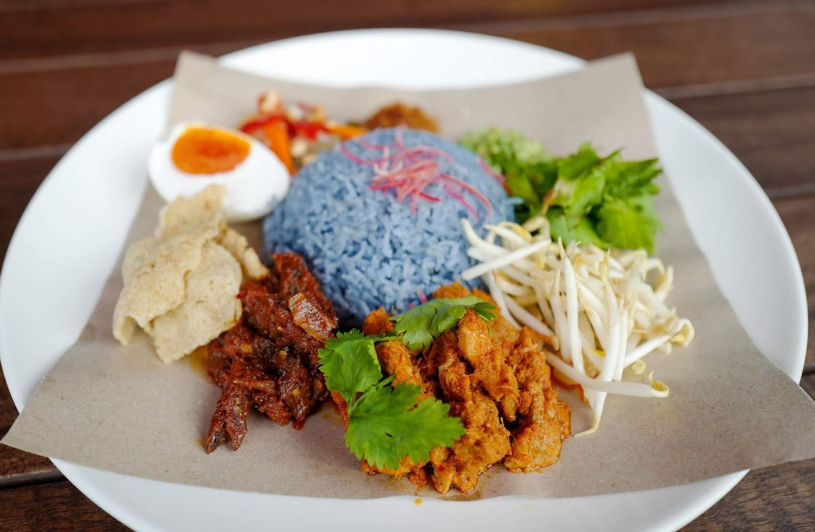 ANTE: Merdeka Month Nasi Kerabu Special