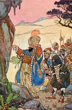 Easy Way (A Blog For Children): Ali Baba And The Forty Thieves ...