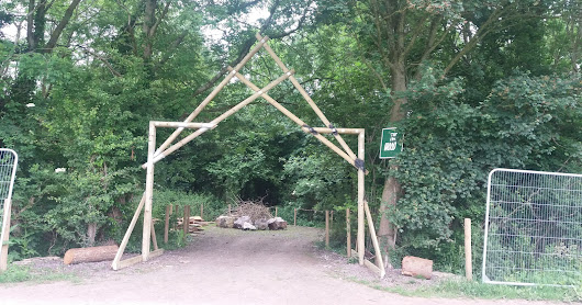 Willow Installation for Glastonbury Festival 2017 The Wood,Glade and Avalon