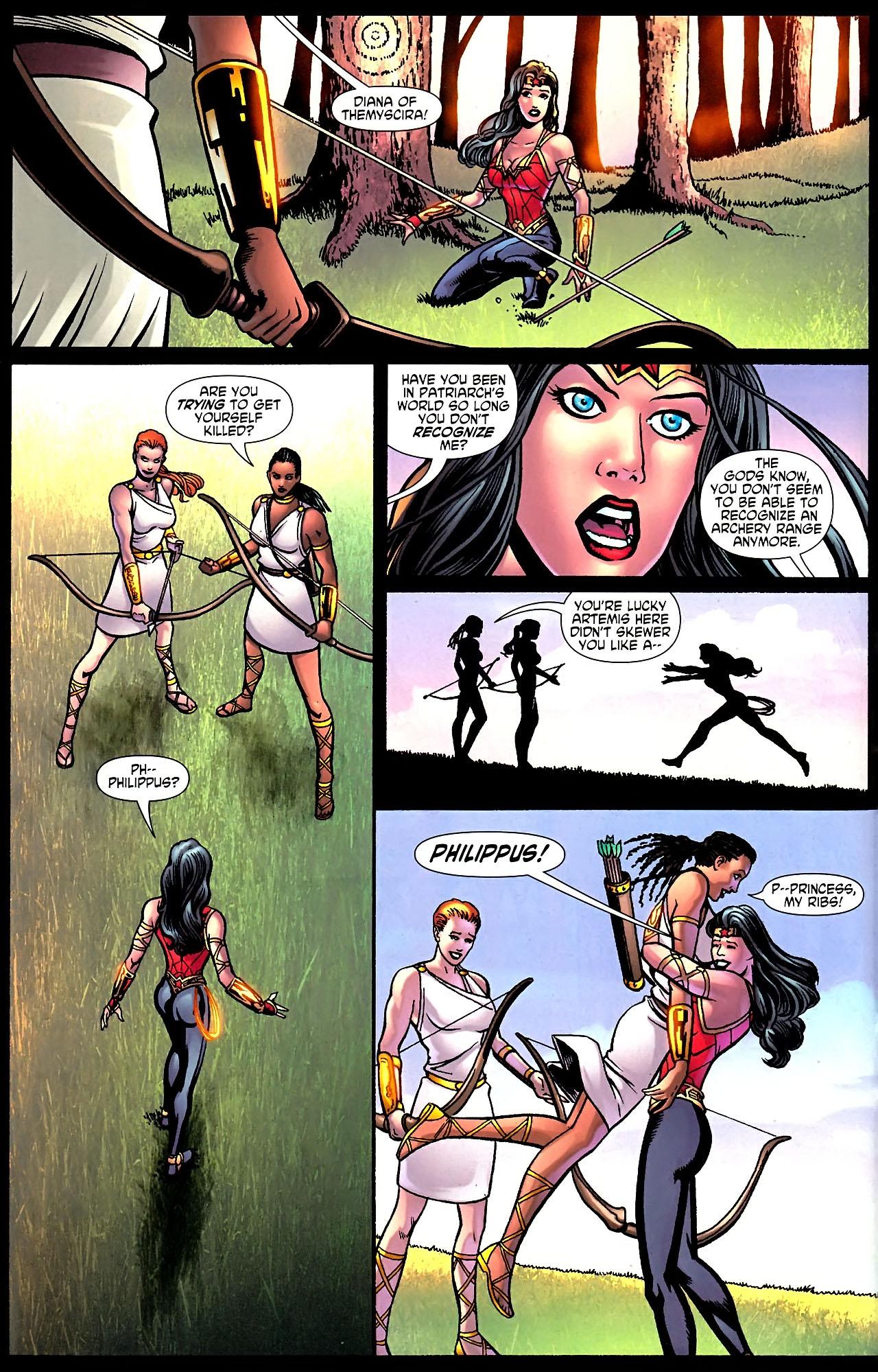 Read online Wonder Woman (2006) comic -  Issue #614 - 14