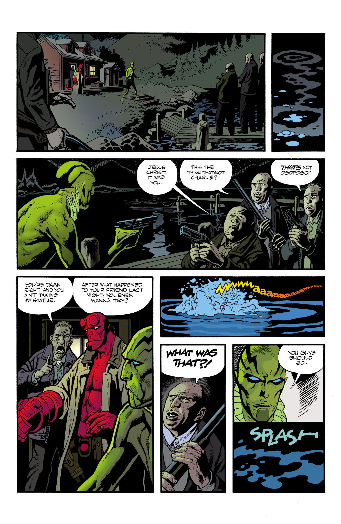 Read online Abe Sapien comic -  Issue #23 - 20