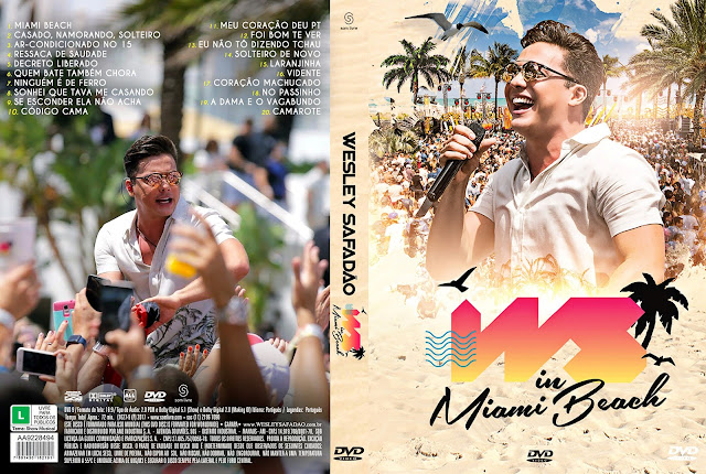 Capa DVD Wesley Safadão: WS in Miami Beach [Custom]