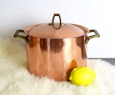 Copper Sauce Pan