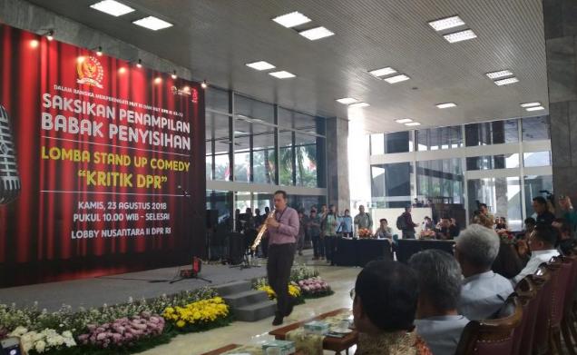 Kala Pimpinan KPK Kritik DPR Lewat Stand Up Comedy