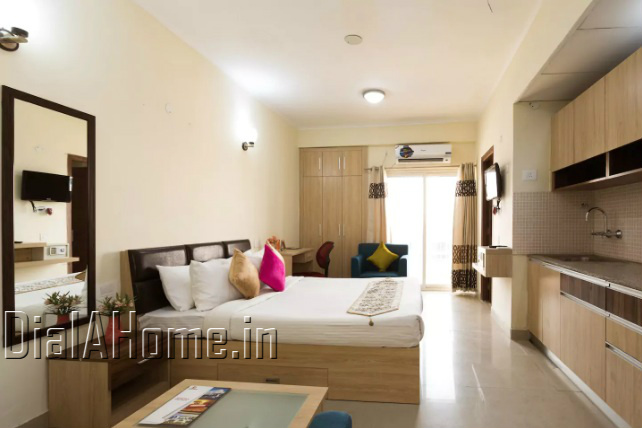 Fully Furnished Studio Apartment For Rent In Noida Sector 137 Dialahome