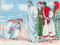 Resultado de imagen para jESUS SANA AL HIJO DE UN NOBLE