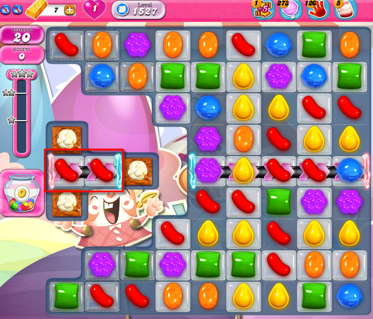 Candy Crush Saga 1527