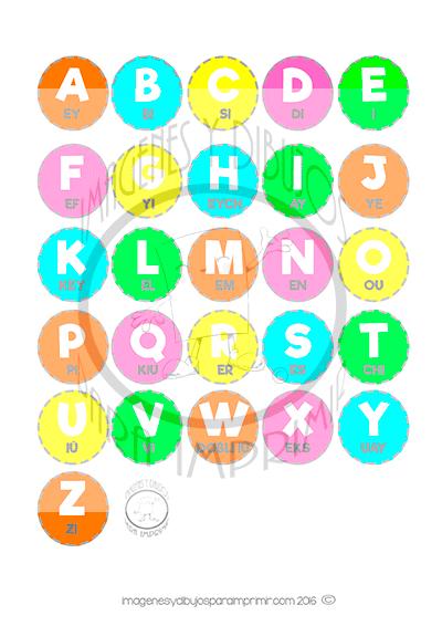 T abecedario en ingls con pronunciacin para imprimir en pdf