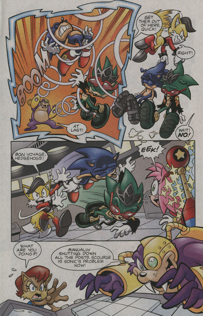 Read online Sonic The Hedgehog comic -  Issue #194 - 18