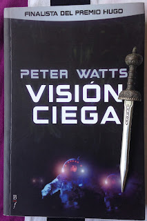 Portada del libro Visión ciega, de Peter Watts