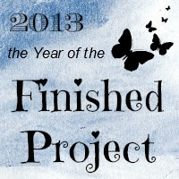 2013 The Year of the Finished Project